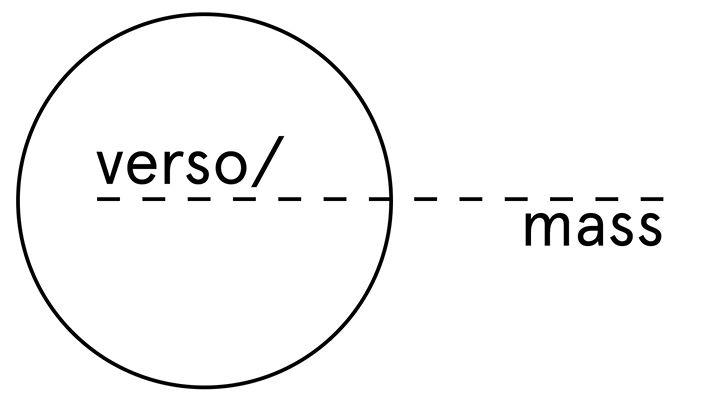 VERSO / mass: Formulae